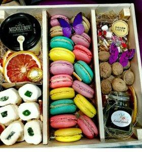 Коробка сладкая