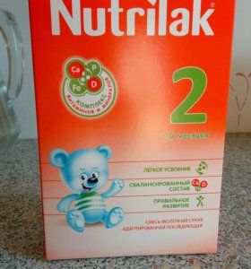 Молочная смесь Nutrilak 2 (с 6 месяцев)