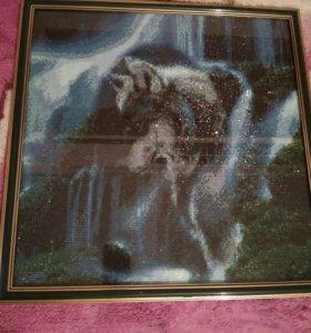 """Картина """"Волк"""""""