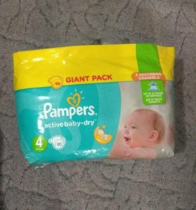 Pampers 90 шт