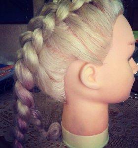 Кукла(для плетение кос)