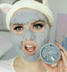 Пузырьковая глиняная маска