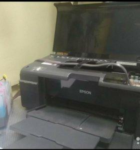 Принтер Epson t50 с снпч