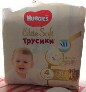 huggies elite soft трусики 4