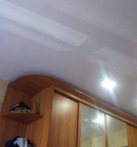 Натяжные потолки от частного мастера.