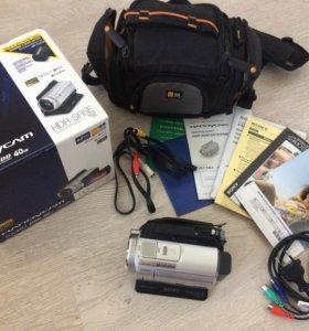 Видеокамера Sony HDR-SR5E 40Gb