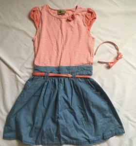 Платье с ободком