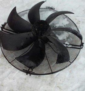 Осевые вентиляторыZIEHL-ABEGG FE080 наконденсатор