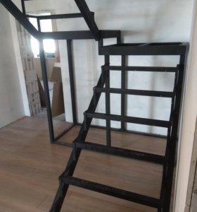 Лестницы металлические.  От производителя