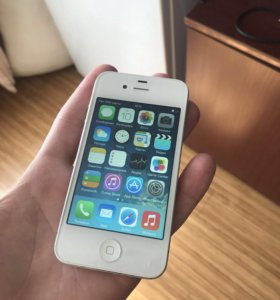 iPhone 4 White 32гб