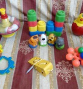 Развивающие игрушки для детей с 10 мес