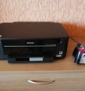 Принтер цветной Epson B42WD WiFi 2х сторонний+снпч