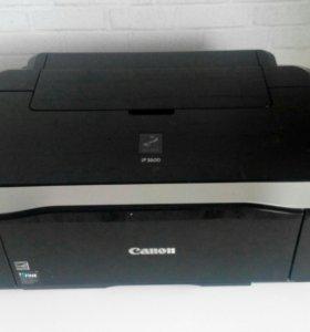 Принтер Canon pixma ip3600 цветной