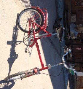 Велосипед складной ссср