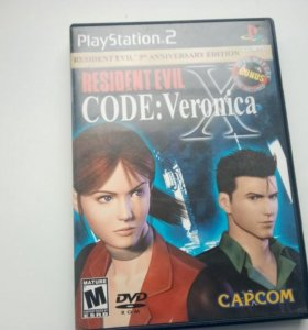 Resident Evil Code: Veronica X (PS2) NTSC-U (USA)