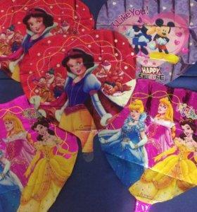 Фольгированные шары 5шт для девочек