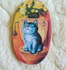 Табличка для ванной/туалета