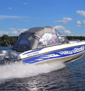 Gladius «Sea Wind 520» с мотором Yamaha 80л.с.