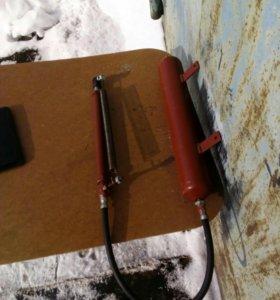 Масленный открыватель форточек в теплице