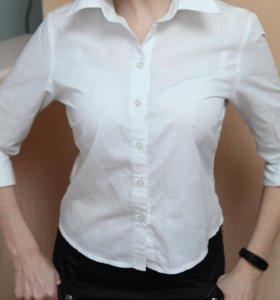 Белая рубашка в хорошем состоянии