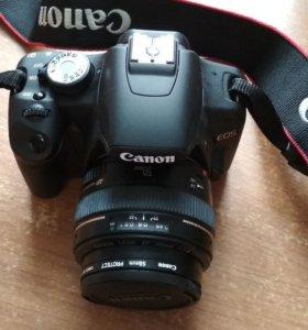 Canon D500 + объектив canon ef 50 mm f/1.4