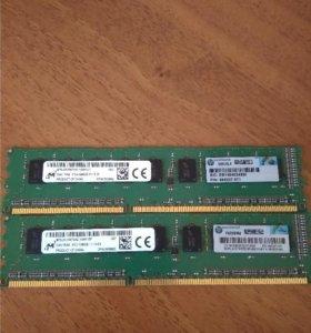 DDR3 1600 2*2Gb