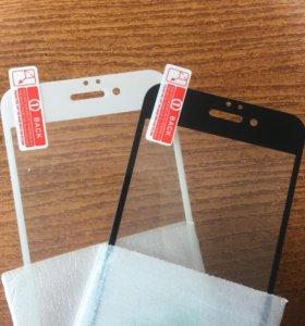 Защитные стёкла на iPhone