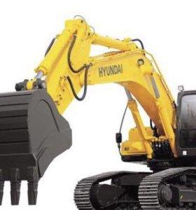 Услуги экскаватора Hyundai R180 1m^3