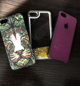 Чехлы на айфон 5s