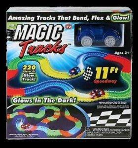 Светящаяся трасса Magic Track 220 деталей