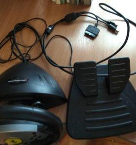 Игровой руль компьютерный