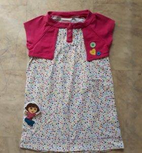 Платье для девочки Nickelodeon
