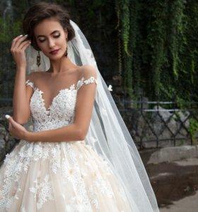 Свадебное платье Milla Nova Barbara + кринолин