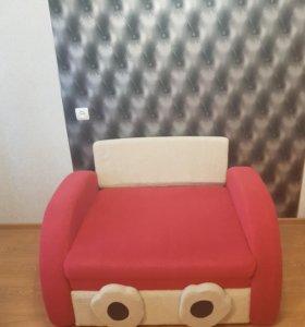 Детское кресло кровать. ( для девочки)