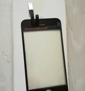 Бесплатно,Та скрин (сенсор) touch screen айфон 3GS