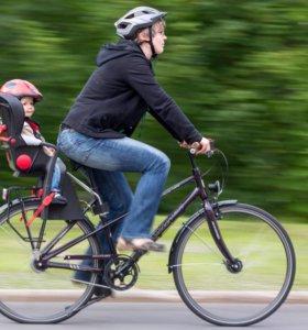 Велокресло переднее/заднее для любого велосипеда
