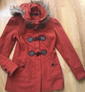 Пальто вельветовое new look