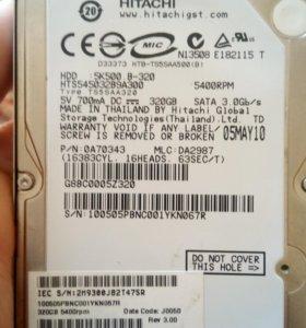 Жёсткий диск к ноутбуку 320 GB
