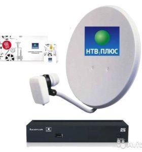 Спутниковое телевидение НТВ плюс за 600 руб. в год