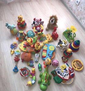 Развивающие музыкальные игрушки 3 пакета