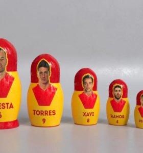 Матрешка Испания - качественный трендовый сувенир