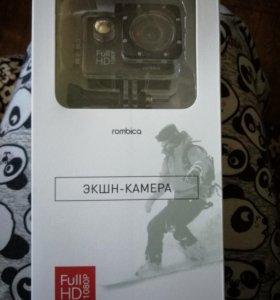 Новая Экшн камера rombica pro cam ac340