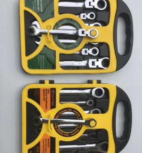 Набор ключей с трещеткой
