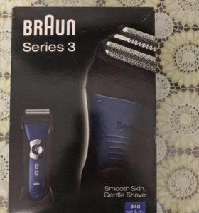 Электробритва Braun series 3 (340 wet&dry)