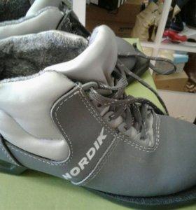 Ботинки лыжные, детские, размер 34