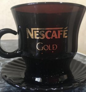 Кофейная пара-чашка с блюдцем