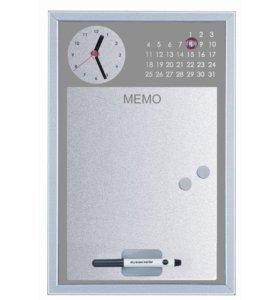 Часы с доской магнитно-маркерной 30x45 см