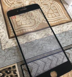 Защитное 3D стекло на айфон 7+, 8+