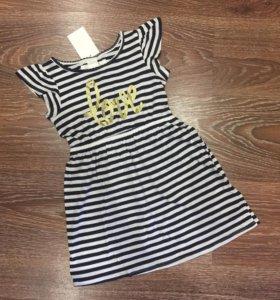 Новое платье Hm на 98/104 см