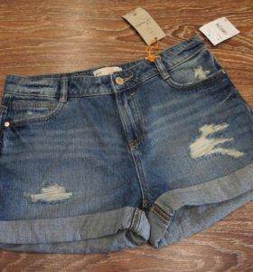 Новые джинсовые шорты С&А Германия,44/46 размер
